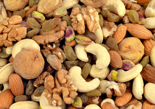 Mix dry fruits as pregnancy food