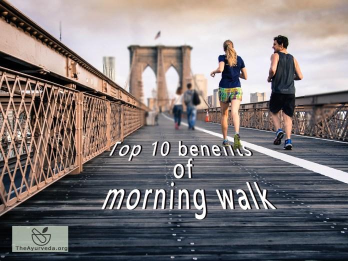 top 10 health benefits of morning walk