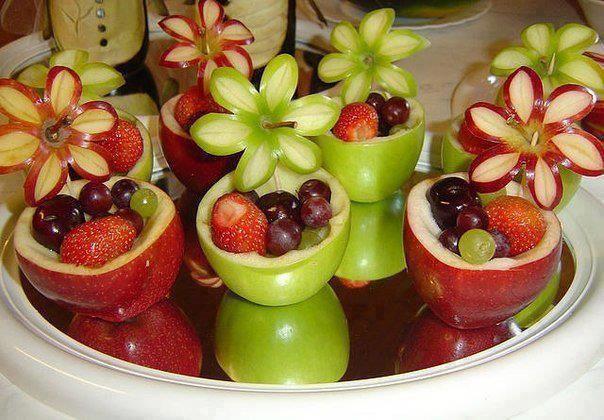 decoration with salads