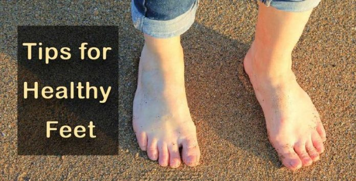 healthy and hygienic feet