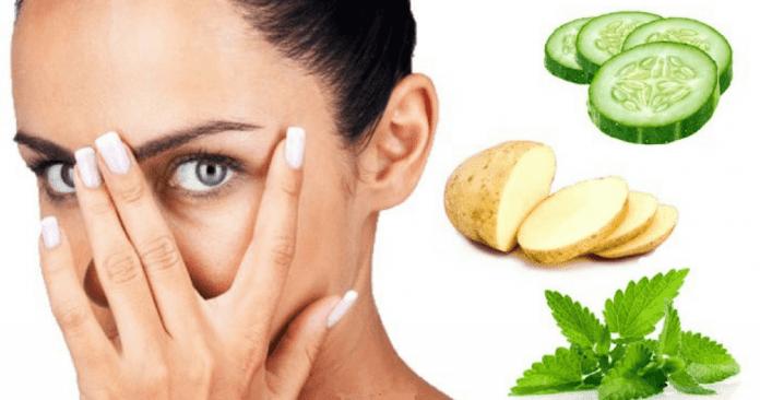 Natural remedies to get rid of dark circles