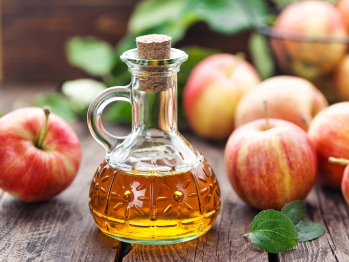 blood sugar balanced with apple cider vinegar