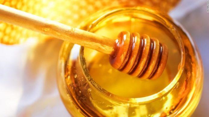 honey for happy teething
