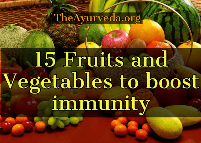 Fruits and vegetables boost Immunity