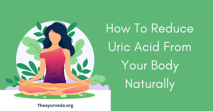 How to reduce the uric acid