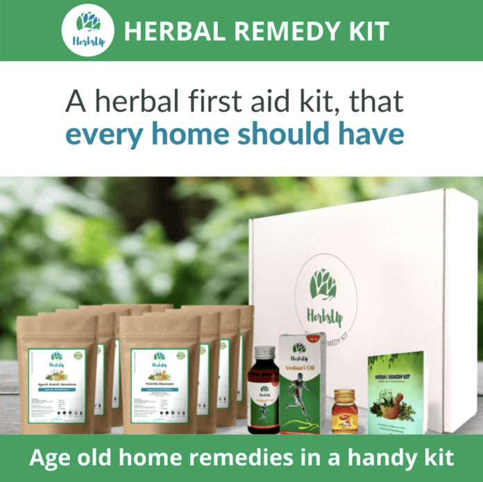 herbsup herbal remedy kit