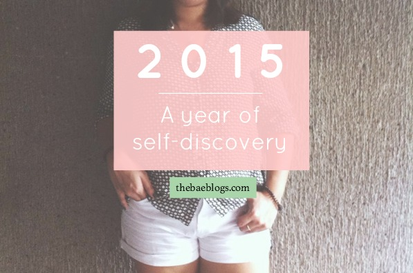 2015: A year of self-discovery