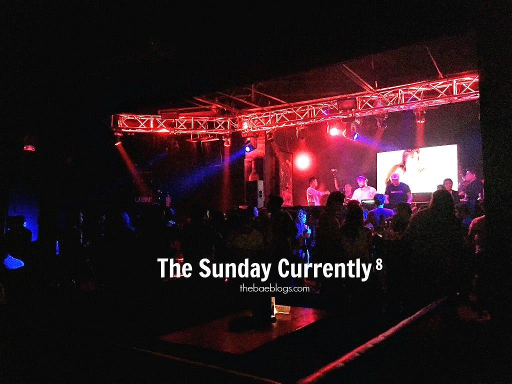 The Sunday Currently, Vol. 8