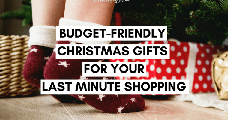 Budget-Friendly Christmas Gifts for Your Last Minute Shopping