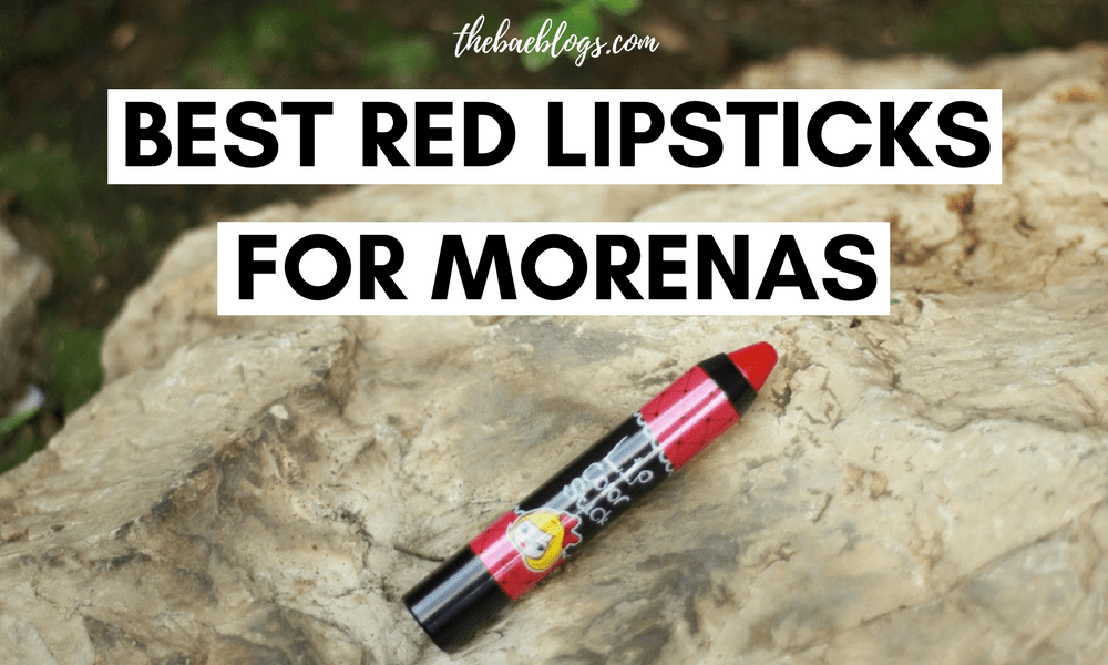 Best Red Lipsticks for Morenas