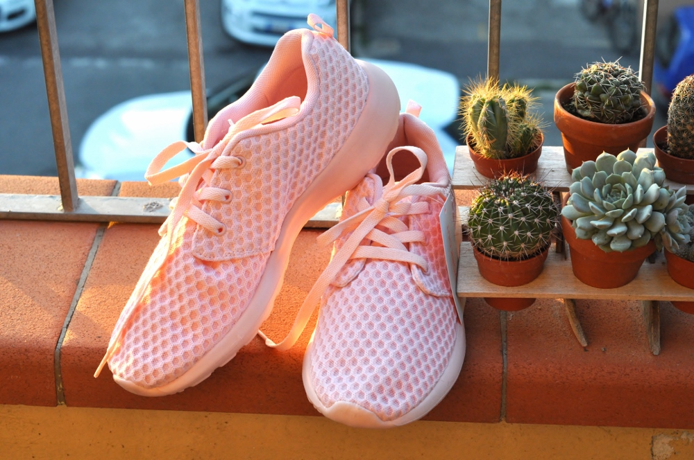 scarpe sneakers primark rosa