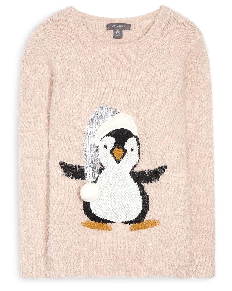 maglione natalizio pinguino