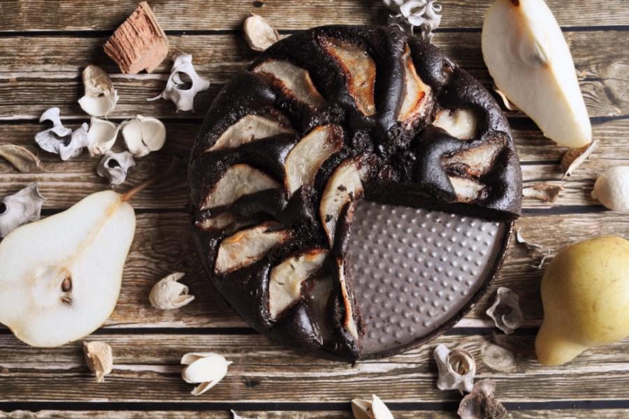 torta cacao pere