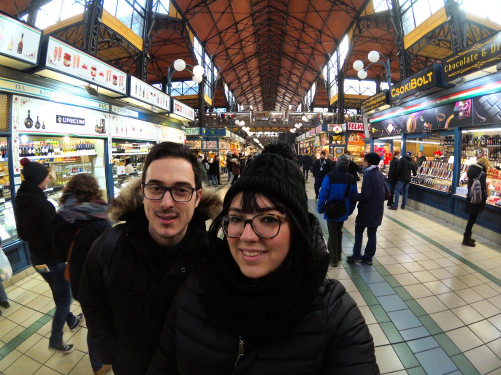 mercato coperto Budapest