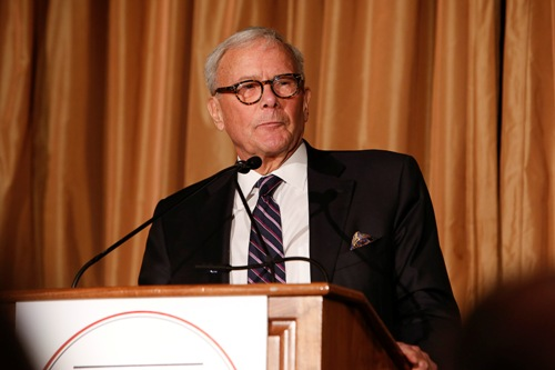 Tom Brokaw. Photo credit: Mark Von Holden
