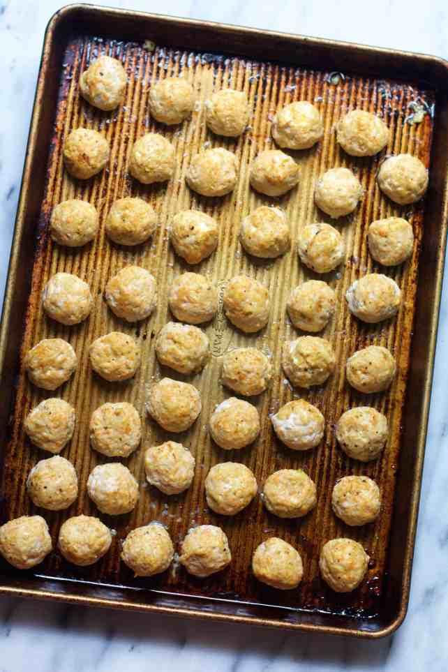 Turkey & Cheese Meatballs
