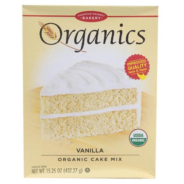 European Gourmet Bakery Organic Cake Mix Vanilla 1525oz