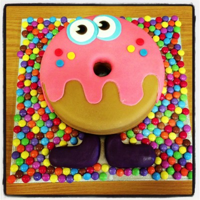 Oddie Foodie Moshi Monster Cake!!