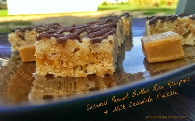Caramel Peanut Butter Rice Krispies