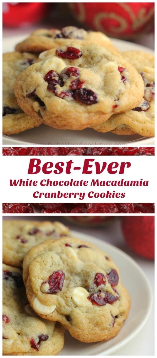Best-Ever White Chocolate Cranberry Macadamia Nut Cookies