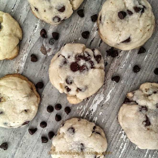 'Simply Irresistible' Chocolate Chip Butter Cookies