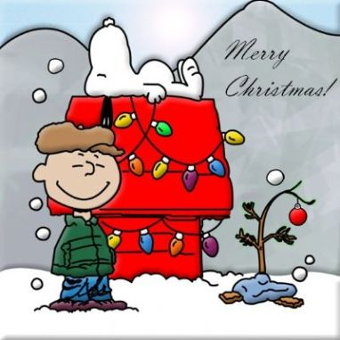 merry christmas charlie brown snoopy