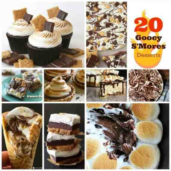 20 Gooey S'More Desserts to Give You Something to S'mile About!