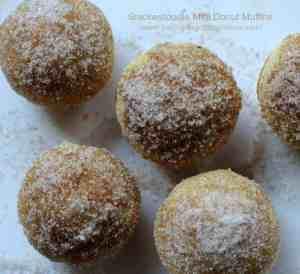 Snickerdoodle Mini Donut Muffins