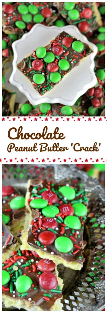 Easy Chocolate & Peanut Butter 'Crack' Toffee - Easy Chocolate & Peanut Butter 'Crack' Toffee