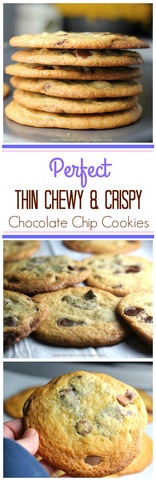 Best Thin & Crispy Chocolate Chip Cookies