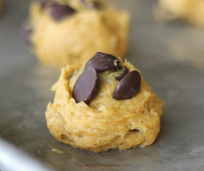 Awesome Chocolate Chip Pumpkin Cookies