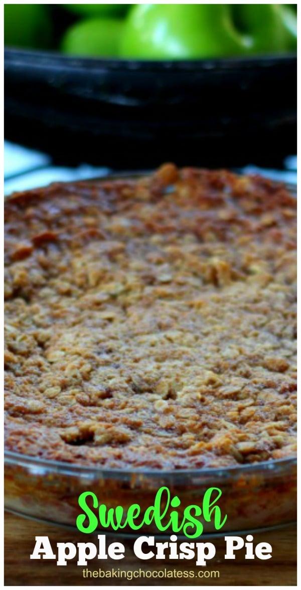 Swedish Apple Pie (aka Apple Crack)