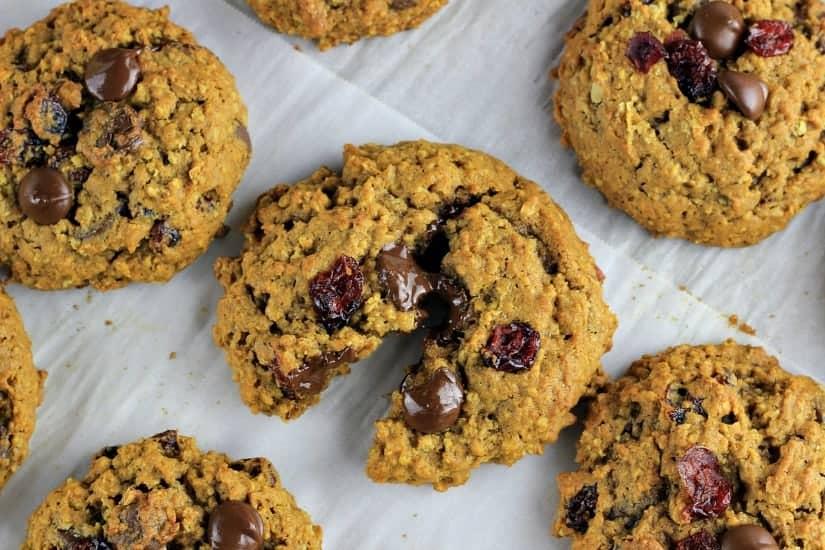 HeartyPumpkin Chai Spiced Oatmeal Cookies
