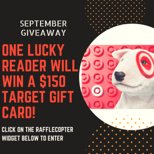 September Recipe Round-Up & $150 TARGET GIFT CARD Giveaway!
