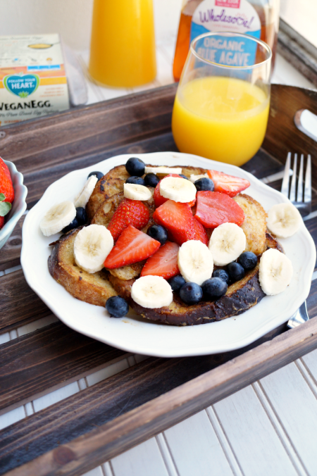 vegan french toast | The Baking Fairy