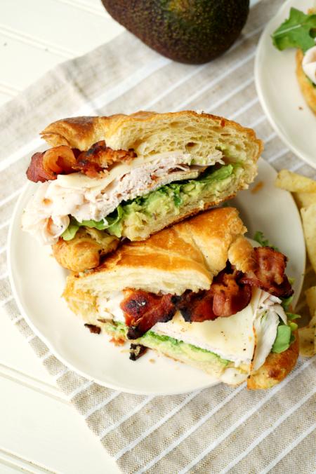 california club sandwich | The Baking Fairy