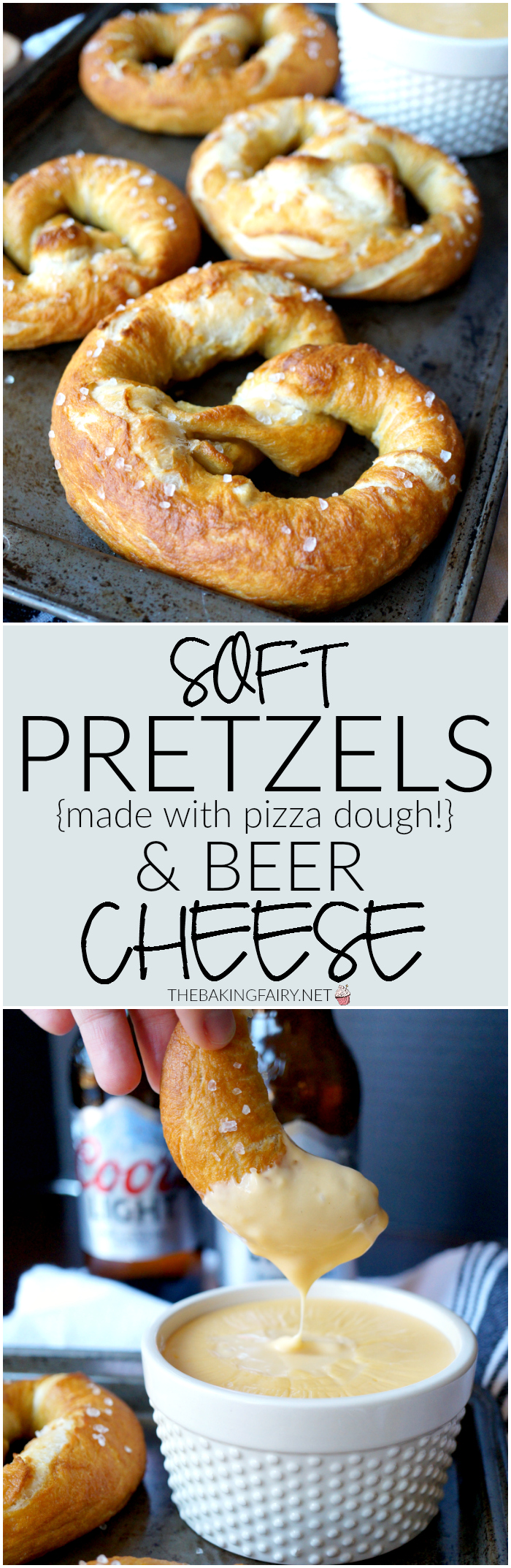 soft pretzels with beer cheese | The Baking Fairy