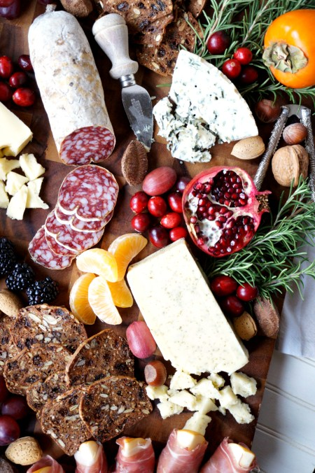 winter harvest cheese board | The Baking Fairy