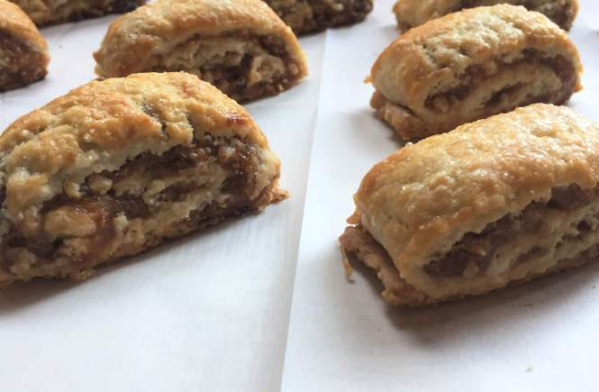 Apple Butter Pie Dough Roll up Cookies