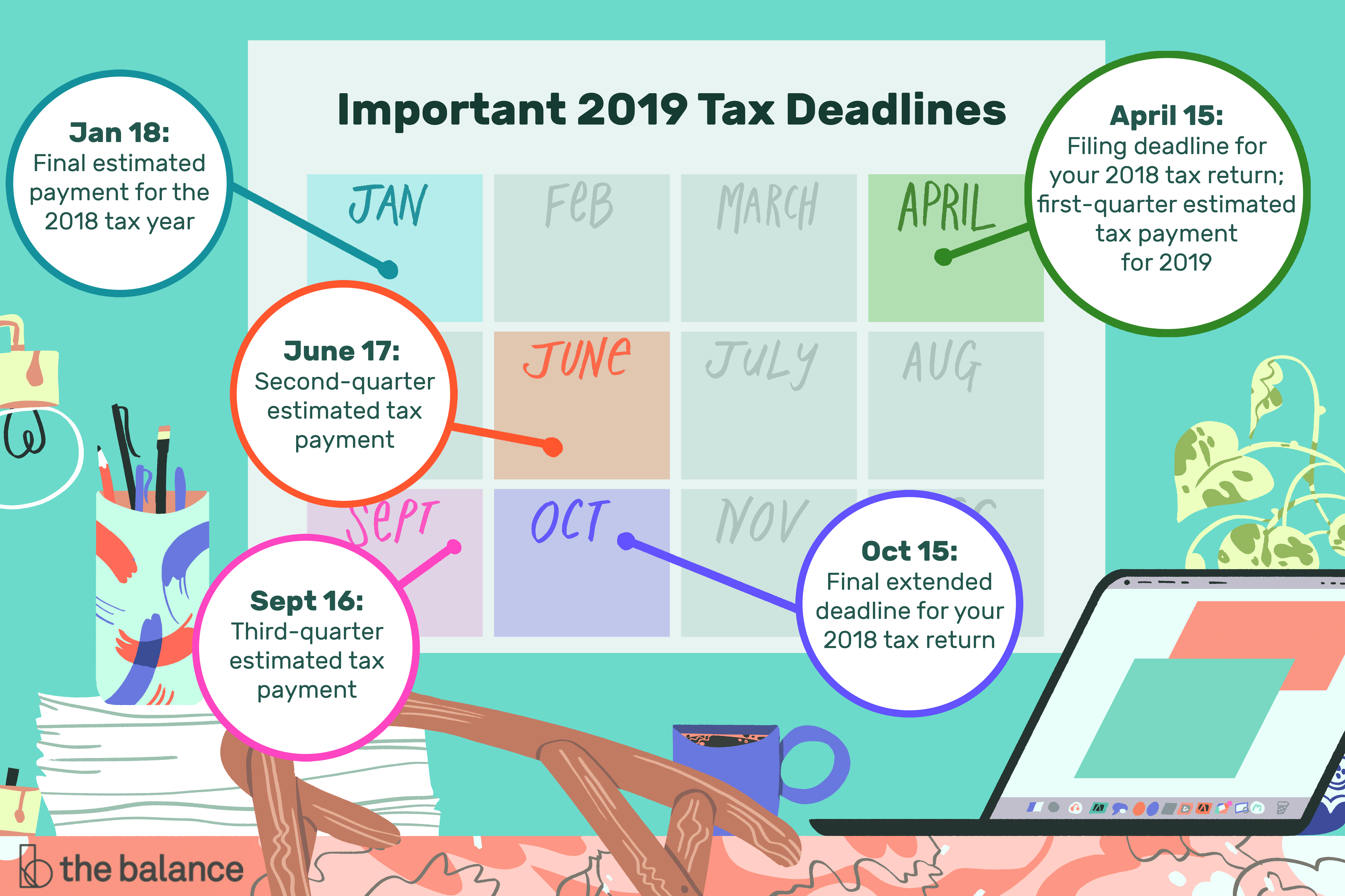 Federal Income Tax Deadlines In