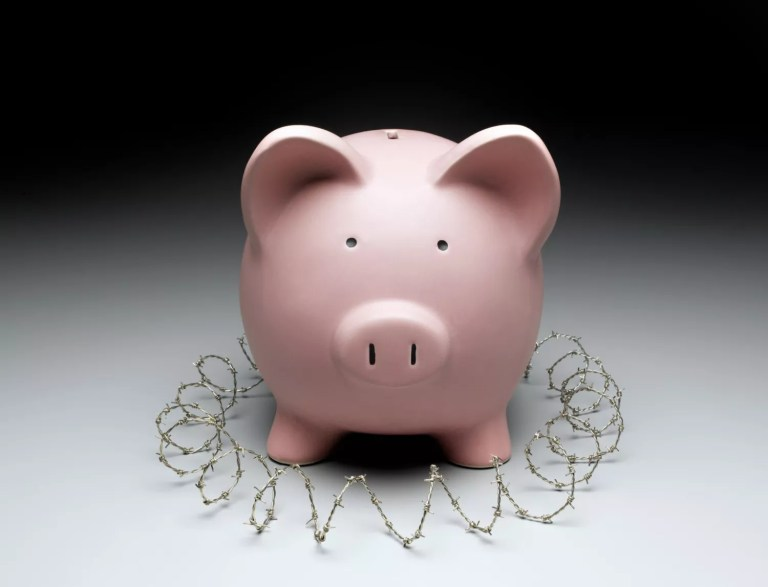 Protect your savings from yourself.