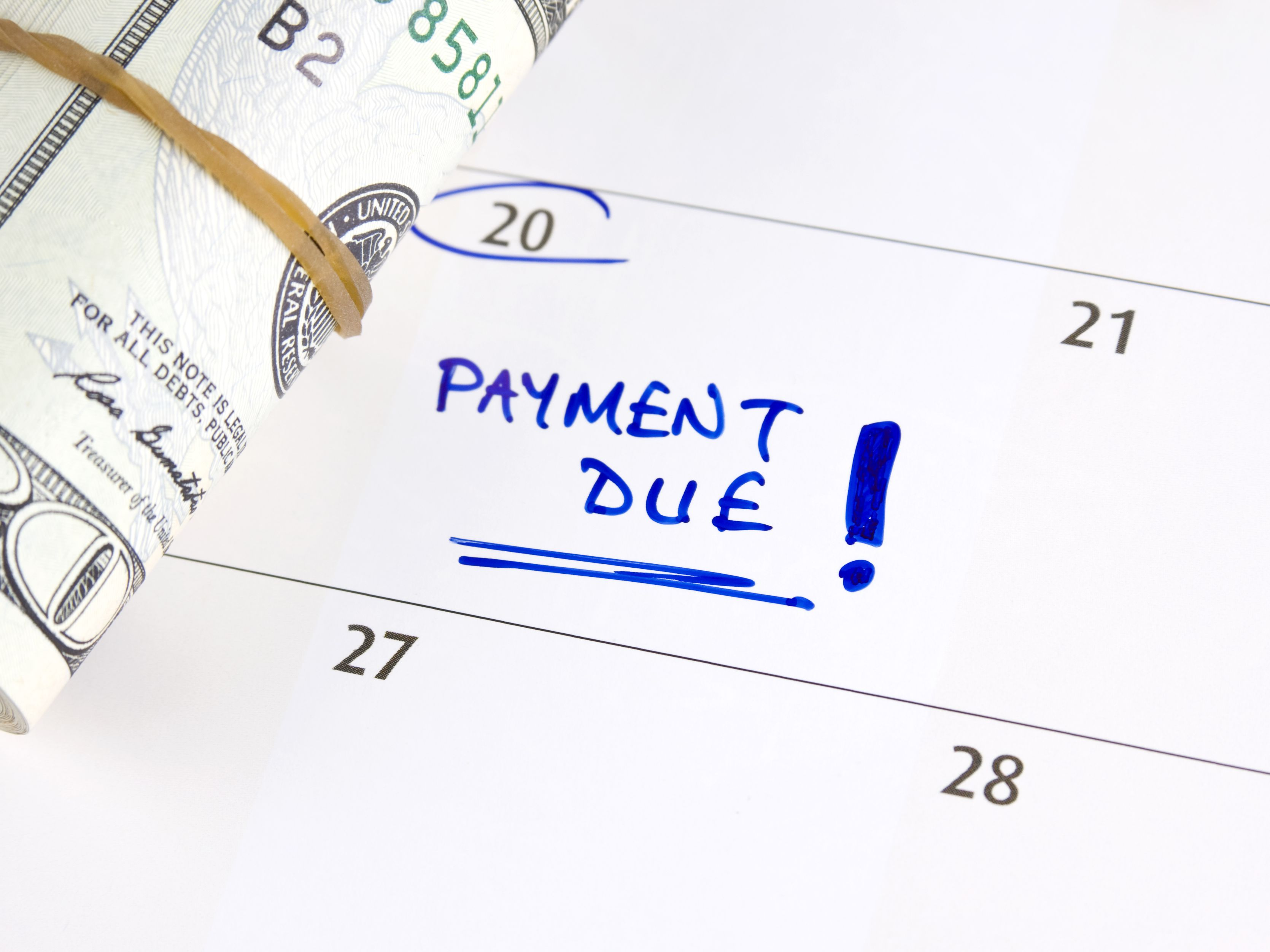 (the payment is late by at least 90 days.) if you don't pay the total amount due, you'll lose your medicare coverage. When Is My Credit Card Bill Due