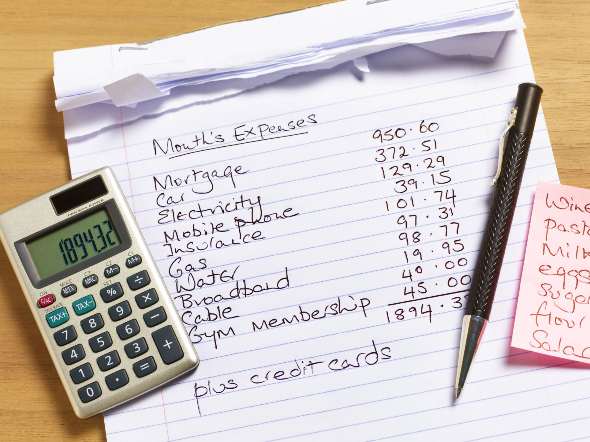 6 Step Guide To Creating A Monthly Household Budget