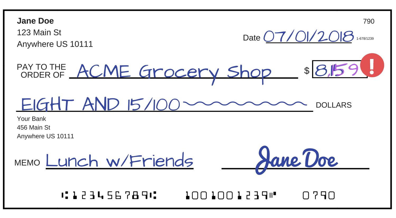 How To Compose A Check