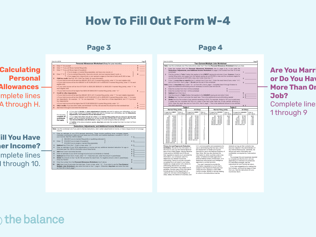 Template Printable W2 Form