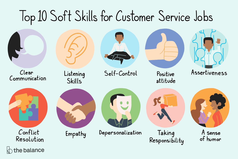 Top 10 Soft Skills For Customer Service Jobs