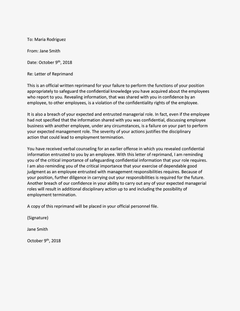 Letter Of Complaint For Substandard Work