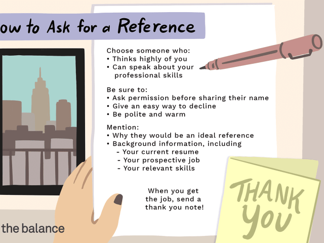 Sample Letters and Emails to Ask for a Reference