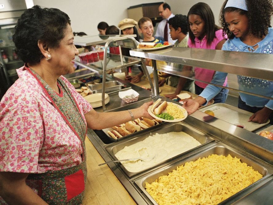 Being a School Cafeteria Worker