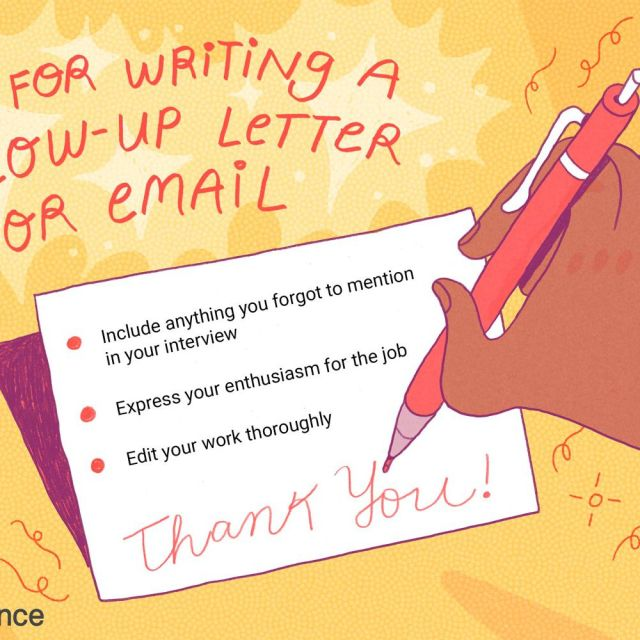 Follow-Up Email Messages and Letters for Interviews